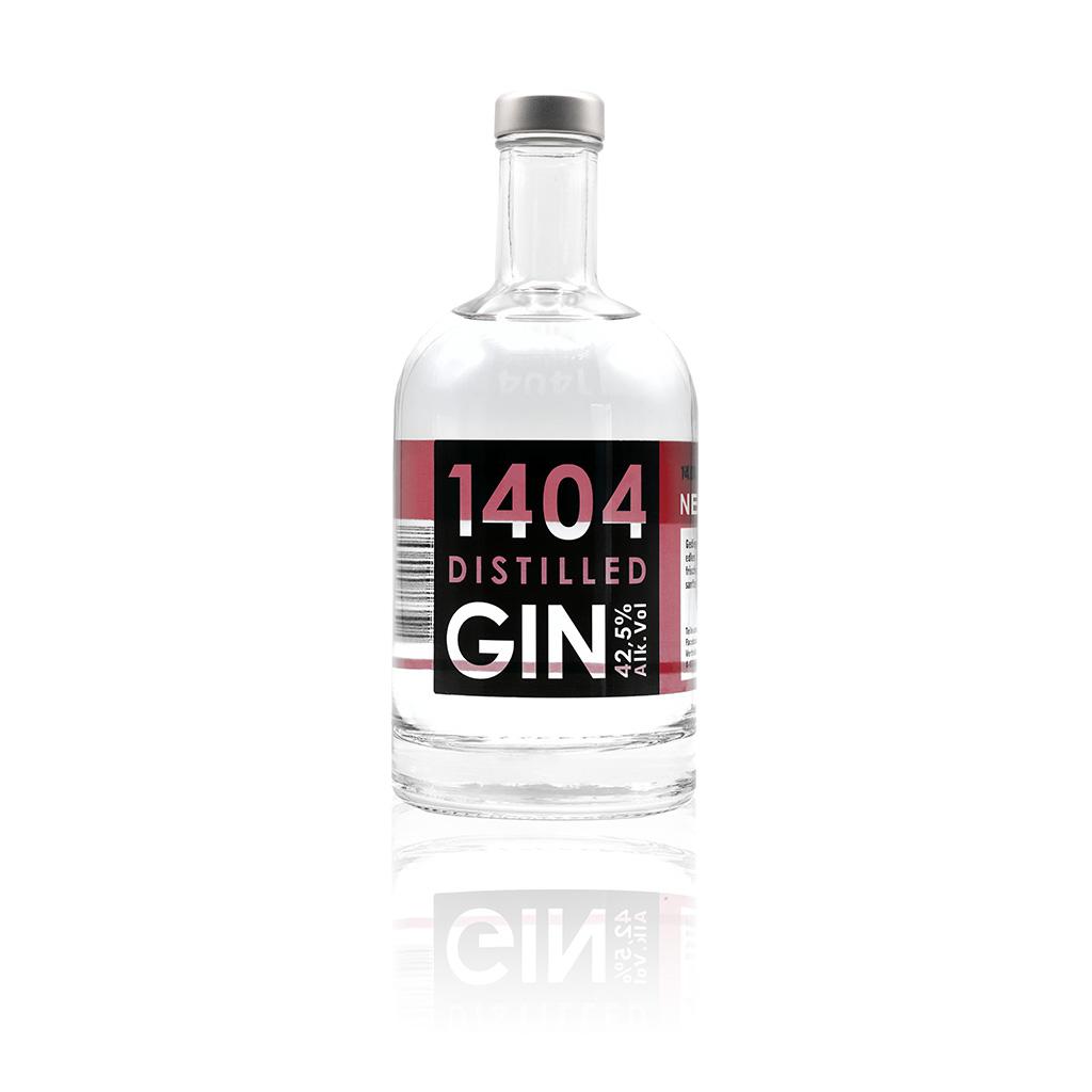 GIN1404 New Wester Dry Gin steirisch-schenken Werbegeschenk