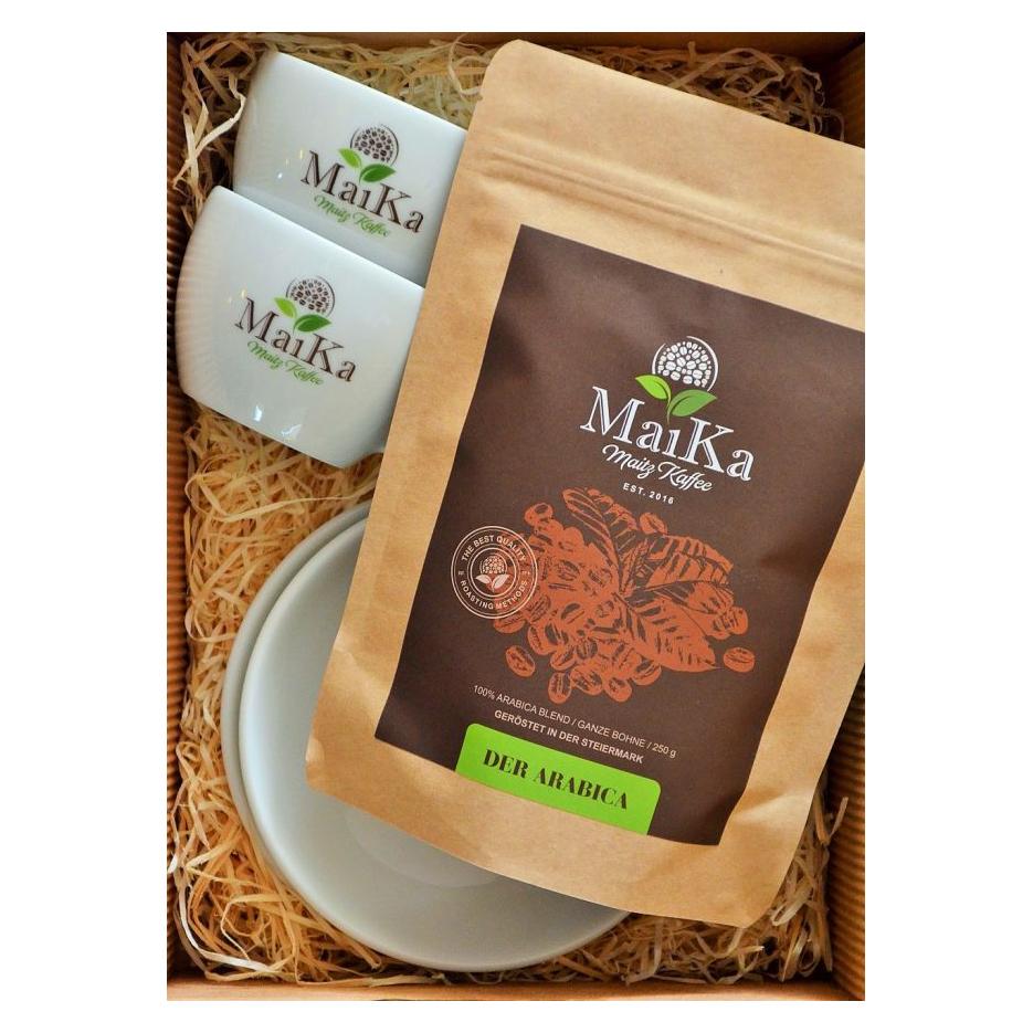 MaiKa Kaffeerösterei Maitz Geschenkset Cappuccino Der Arabica als Werbegeschenk