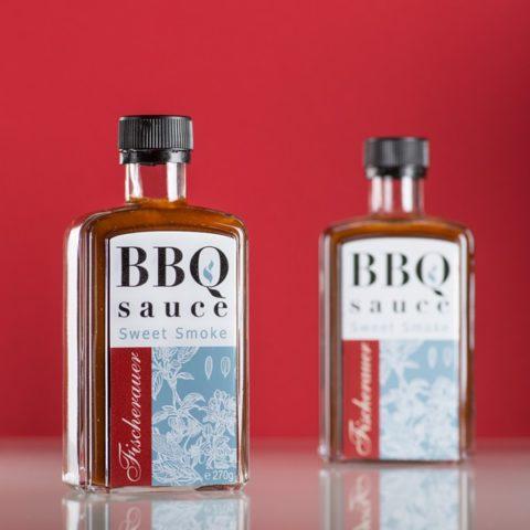 Fischerauer Sweet Smoke BBQ Sauce als Werbegeschenk