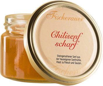 Chili Senf von Fischerauer als Geschenk für Ihre Kunden