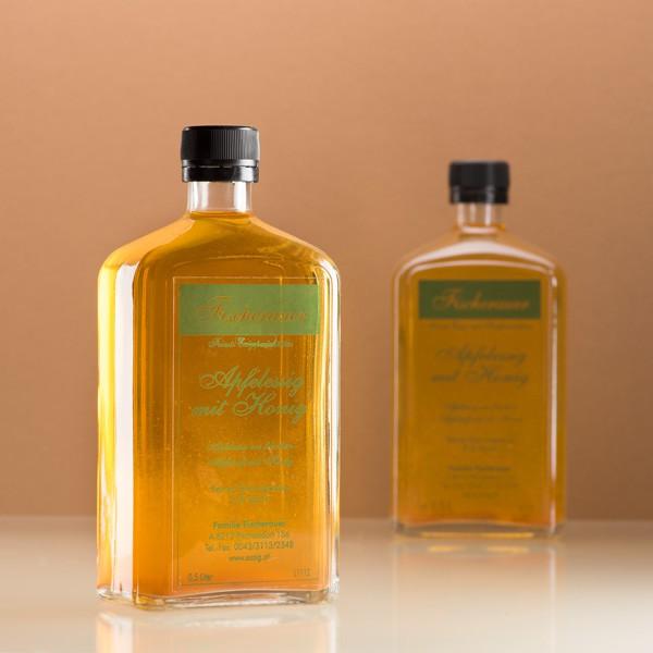 Fischerauer Apfelessig mit Honig als Kundengeschenk