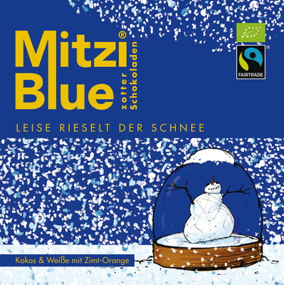 Zotter Mitzi Blue Winterkollektion als Werbegeschenk