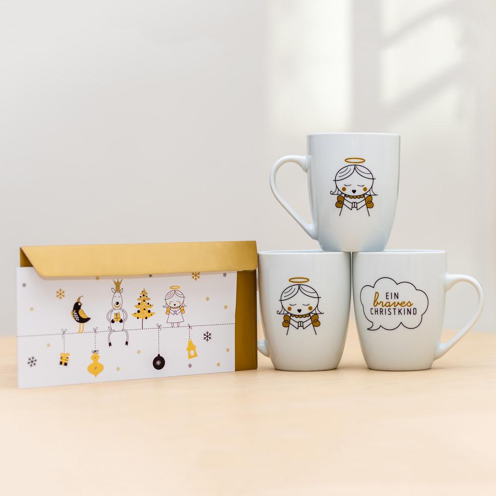 Weihnachtspackage Billet und Tasse von Design Souvenir Shop