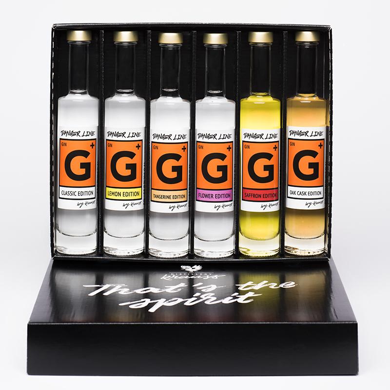Distillery Krauss g+ 6er Geschenkkarton