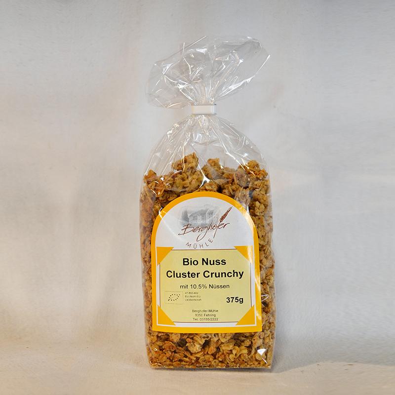 BErghofer Mühle Müsli BIO Nuss Cluster Crunchy