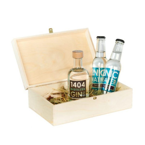 Herzbergland Dry Gin in the Box