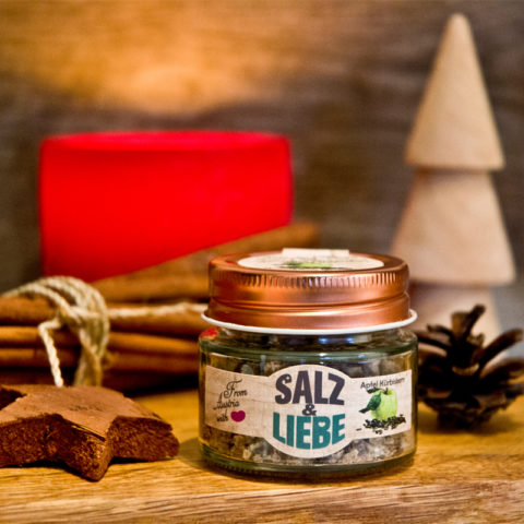 Salz&Liebe BIO Apfel Kürbiskern Salz 50g