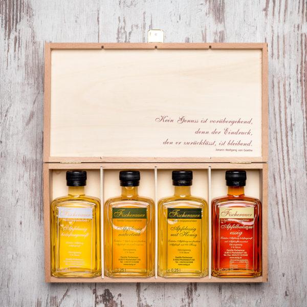Fischerauer Geschenkbox Apfelessig