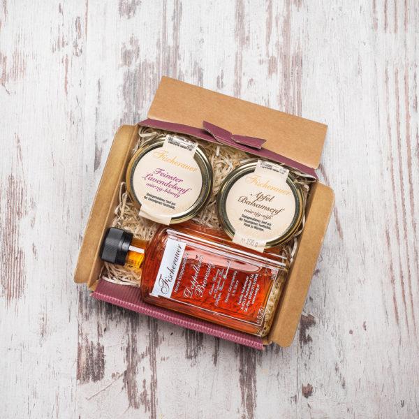 Fischerauer Geschenkbox Edel Essig und Senf