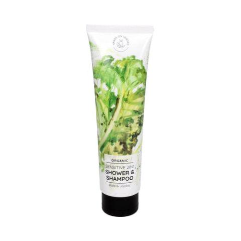 Hands On Veggies Sensitiv 2in1 Bio Duschgel und Shampoo