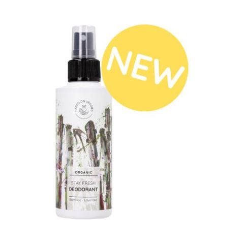 Hands On Veggies Stay Fresh Bio-Deodorant - Bamboo & Lavender