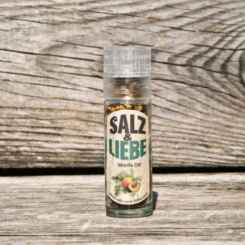 Salz&Liebe BIO Marille – Dill Salz 25g
