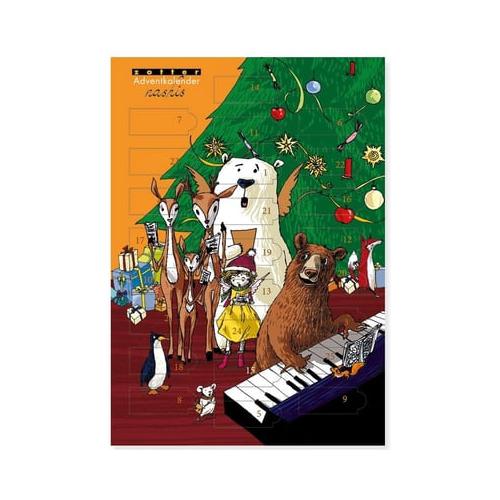 Zotter Schokoladen Minis Adventkalender
