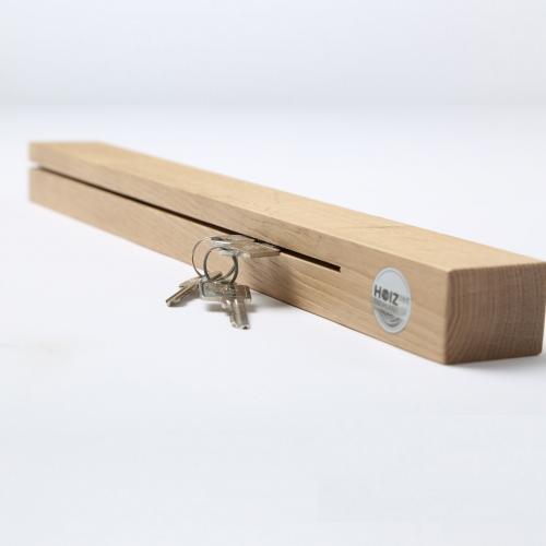 Hoizzeit Schlüsselboard aus massivem Holz aus der Steiermark
