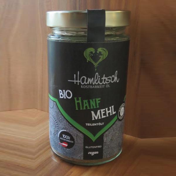 Ölmühle Hamlitsch Hanfmehl