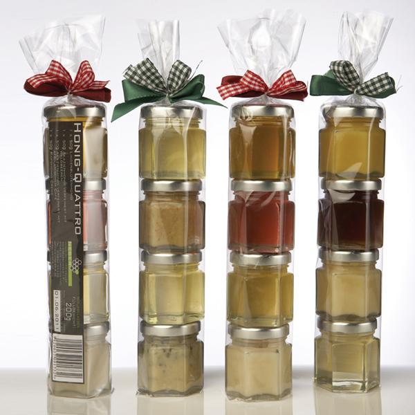 Neber Honig Quattro Geschenkset