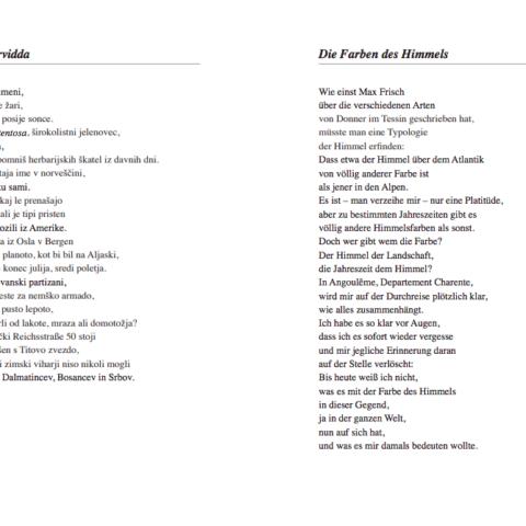 Gedichtband Vom Reisen Pollanz Leseprobe 1
