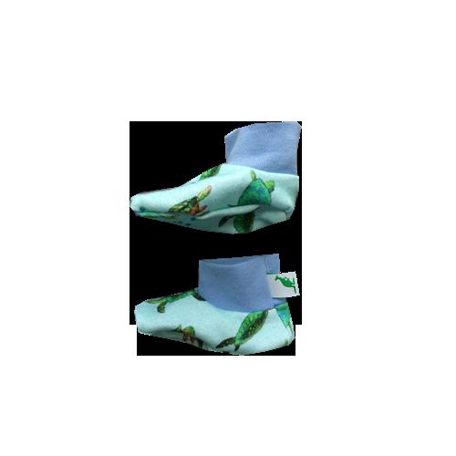 Bio Babyschuhe Grünes Känguru