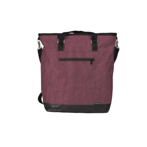 magbag Shopper Merry Carry dunkelrot