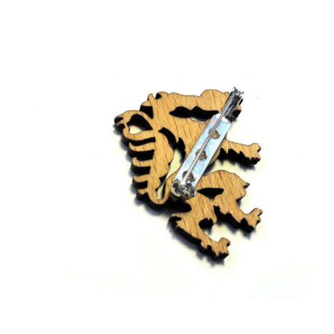 Woodheroes Streuartikel Anstecknadel Steiermark Panther
