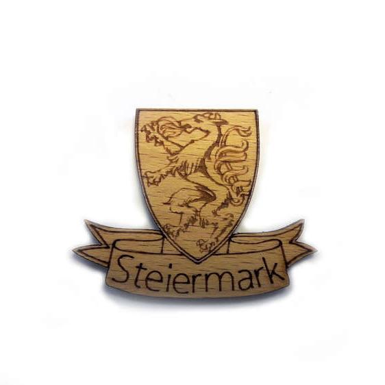 Woodheroes Streuartikel Steiermark Wappen